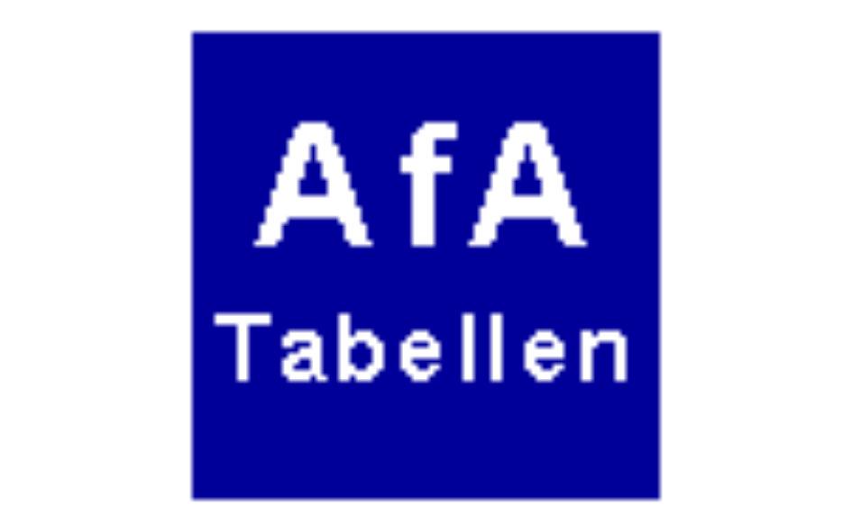 Daxboeck_deutsche Afa-Tabelle